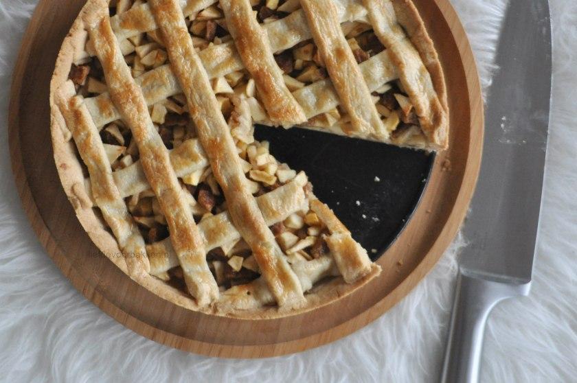 Stroopwafel appeltaart