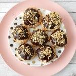 Kokoskoekjes met chocolade en amandelen (+ gluten vrije variant)