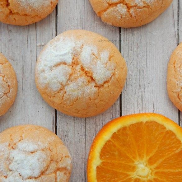 Sinaasappel koekjes