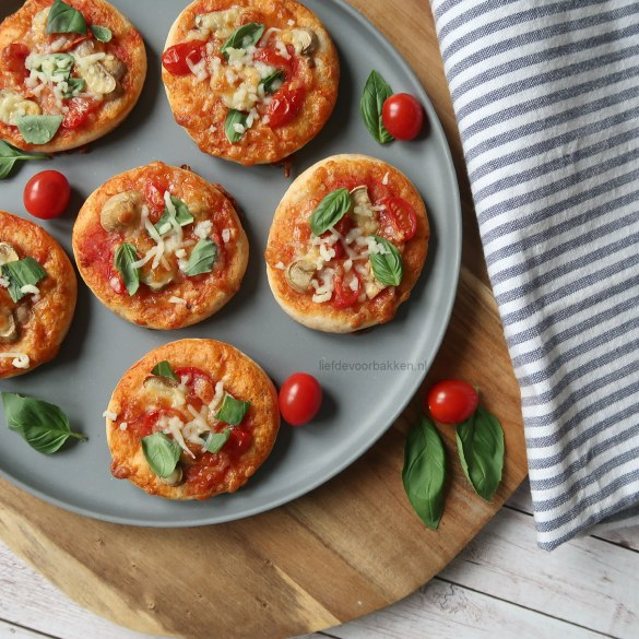 Video: vegetarische mini pizza's
