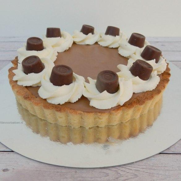 Rolo chocolade taartje