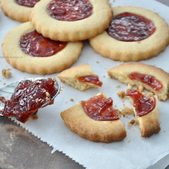 Tartelettes met jam