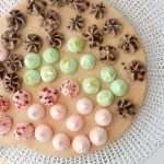 Meringue kisses in drie smaken