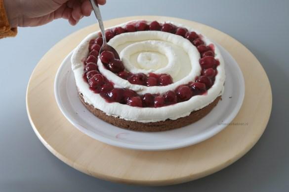 Schwarzwälder kirsche torte