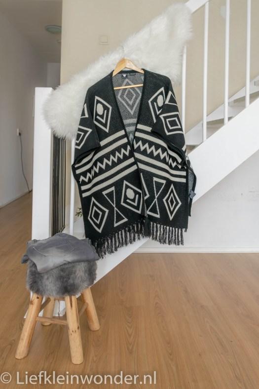 Mama mode vest poncho tregging