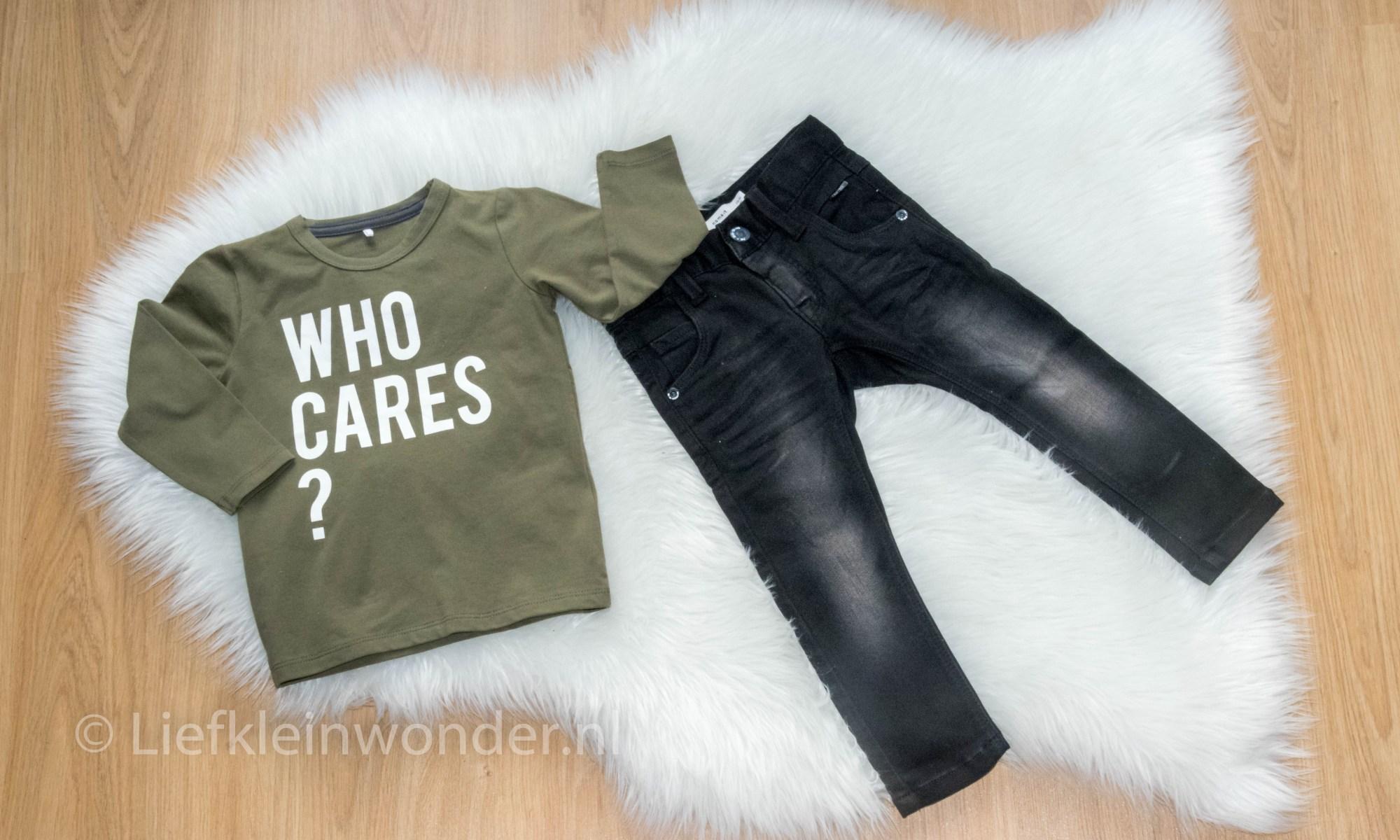 Shoplog: Name it babykleding sale who cares spijkerbroek