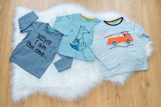 Shoplog Hema babykleding - baby shirts van hema uit wasbeer