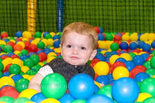 Jayden 16 maanden en 3 weken oud peuter dreumes - Meeting en spelen in ballorig