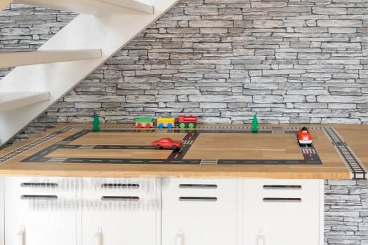 Wegtape van AliExpress - maak je eigen wegen speelgoed tape weg spoor trein zwart wit