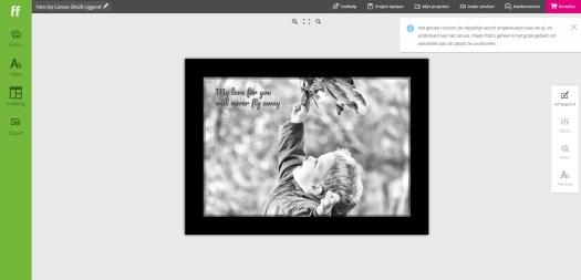 Foto op canvas fotofabriek.nl review fotografie fotoproducten mamablog