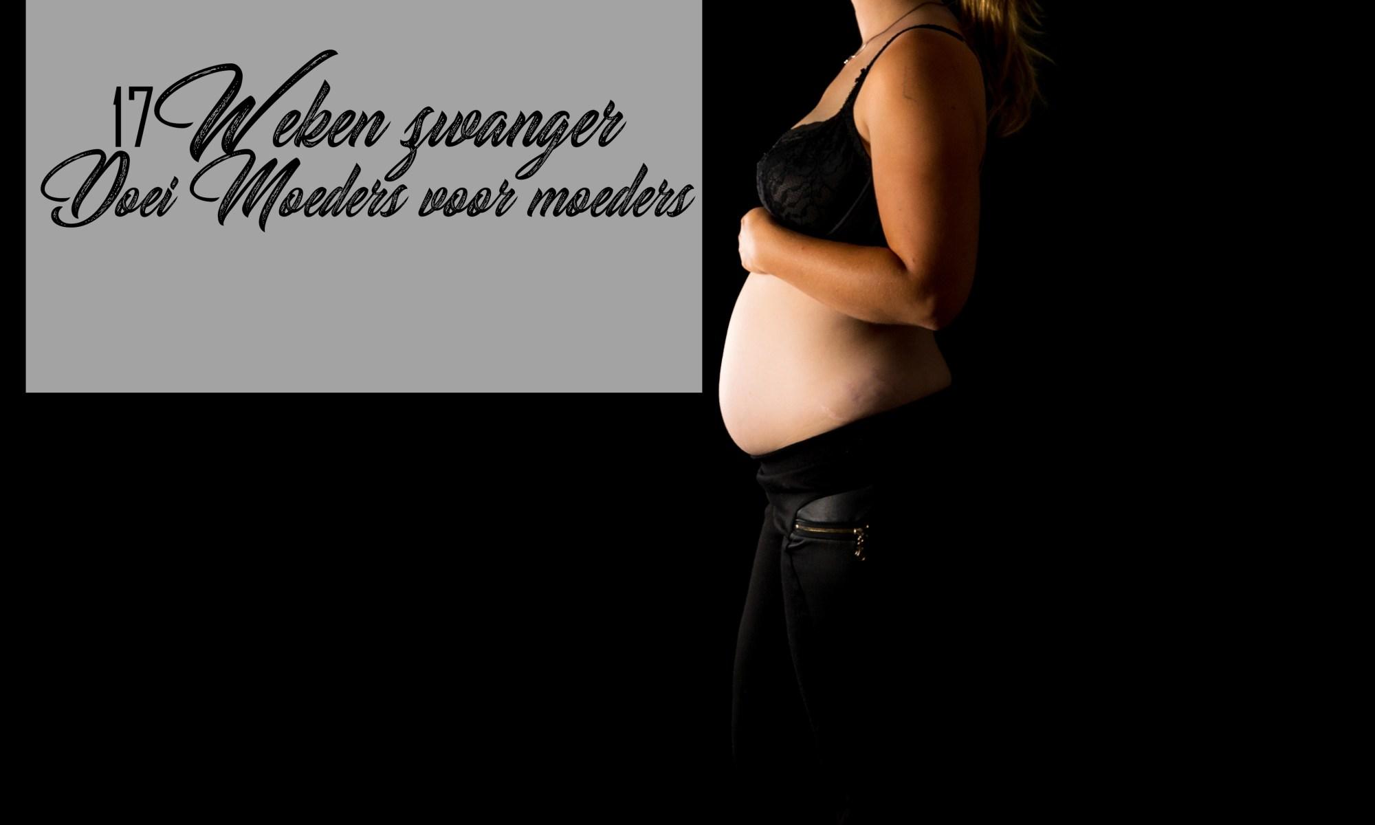 17 weken zwanger buikfoto tweede kindje zwanger zwangerschap baby broertje foto mama blog www.liefkleinwonder.nl