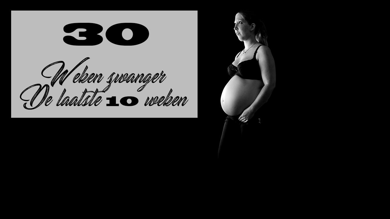 30 Weken zwanger buikfoto 7 maanden zwanger maand 8 baby zwangerschap tweede kindje clomid kwaaltjes zwaar