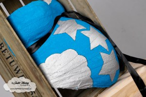 Xenos gipsbuik pakket leg je zwangerschap vast beste tijd 33 34 weken zwanger baby 2 tweede blog mama broer verf gips beschilderen www.liefkleinwonder.nl