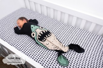 Minis Only Electrik Kidz haai haaien slaapzak brandrep newborn baby mama blog www.liefkleinwonder.nl