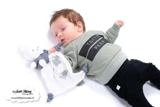 Nijntje knuffeldoekje met naam Koter Kado gepersonaliseerd baby cadeau mama blog www.liefkleinwonder.nl foto brandrep kraamcadeau