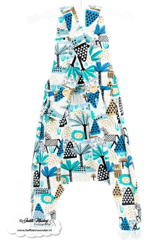 Brandrep babykleding baby zomerkleding review hip by (b)engel mama blog www.liefkleinwonder.nl shoplog jongen dieren blauw salopette harem tuinpakje