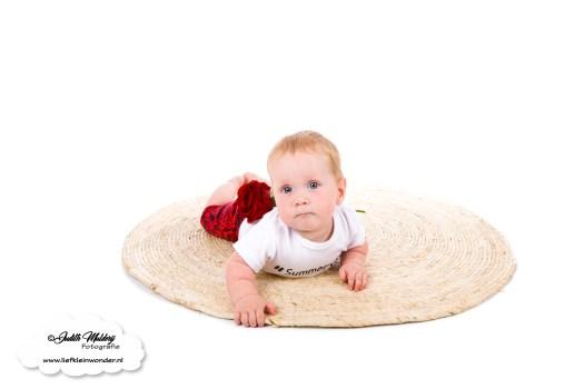 Zomer shorts R rebels kids clothing baby kleding broekje review brandrep foto's mama blog www.liefkleinwonder.nl rozen roses rood