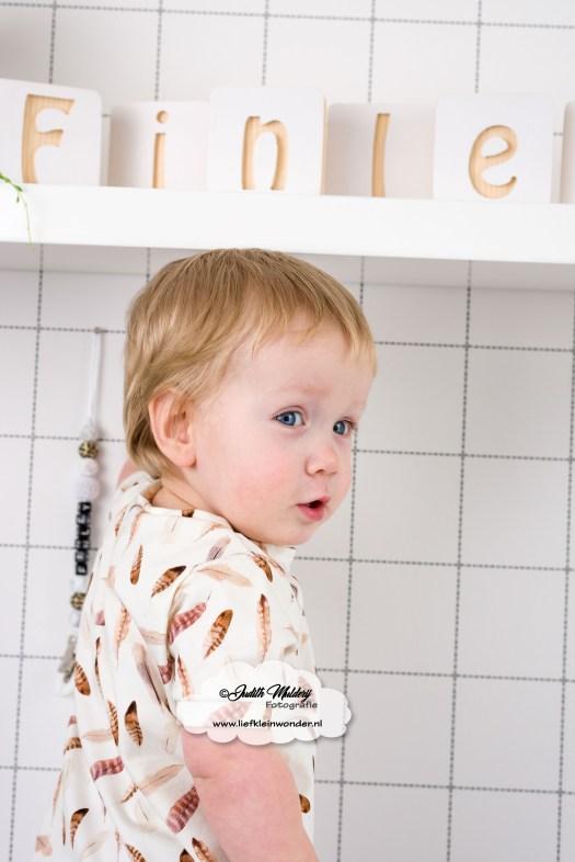 prints met bijpassende stoffen Little adventure veren feather print babykleding baby broekje shirtje handgemaakt review mama blog www.liefkleinwonder.nl cognac