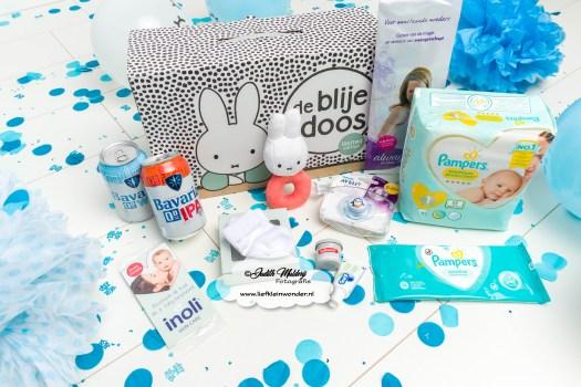 inhoud de blije doos limited edition Nijtnje Prenatal Wij