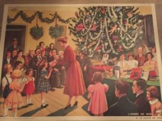 Deze fantastische kerstplaat hangt nu ook bij ons