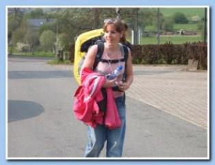 Wandelen door de Ardennen met school, zwaar maar gaaf