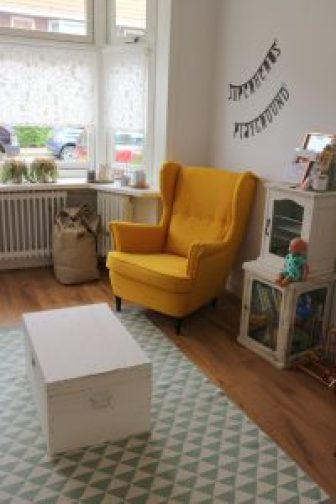 Inrichting fauteuil