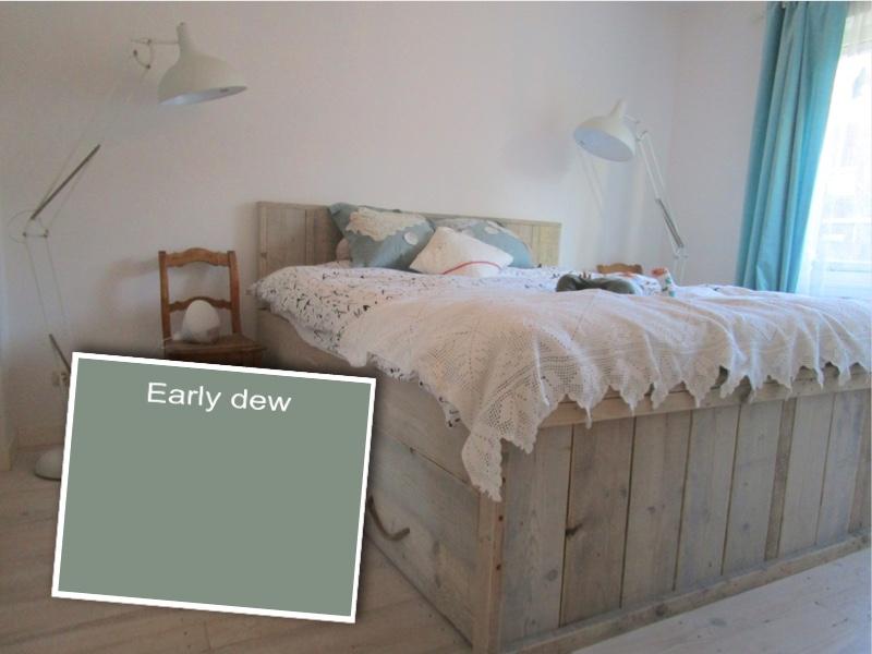 Fabulous Lief thuis verbouwt: Ik wil meer kleur... Ik wil Early Dew #CQ99