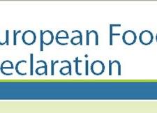 European food declaration
