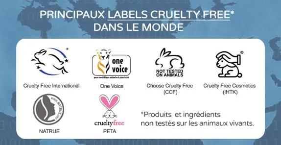 label vegan pictogrammes cruelty free
