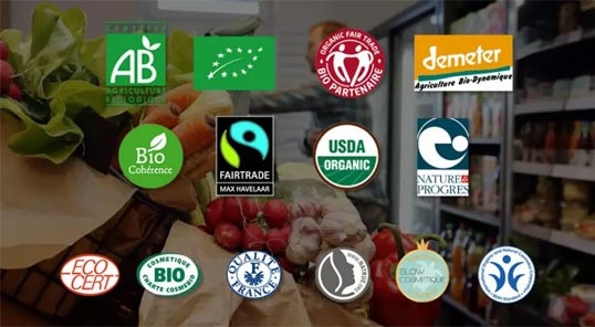 label vegan labels bio