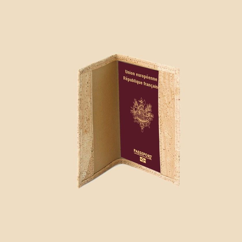 porte passeport en liège modèle Dory