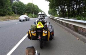 Dreirad im Verkehr