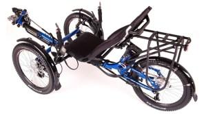 Icletta Adventure Dreirad mit Elektroantrieb