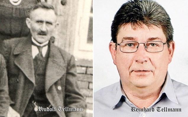 Rudolf und Reinhard Tellmann, Grafik: Rolf G. Wackenberg