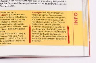 Iwanowski, Von GOETZEN bis LIEMBA - Foto: Rolf G. Wackenberg