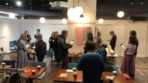 2019/2/10富士市ポートホールでの婚活パーティーの様子4