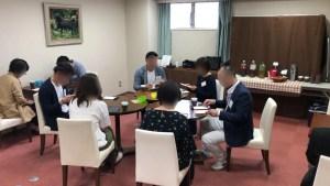2019/5/4富士市のアパホテル富士中央「富士の間」でのミニパーティーの様子2