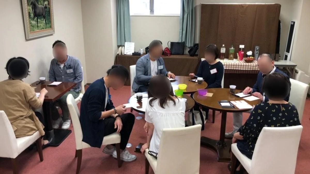 2019/5/4富士市のアパホテル富士中央「富士の間」でのミニパーティーの様子1