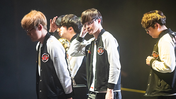 Hanoi, Vietnam - May 14: --- during the 2019 League of Legends Mid-Season Invitational Group Stage at the National Convention Center on May 14, 2019 in Hanoi, Vietnam. (Photo by David Lee/Riot Games)