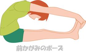 ヨガ,背中,痛み,腰痛,前かがみのポーズ
