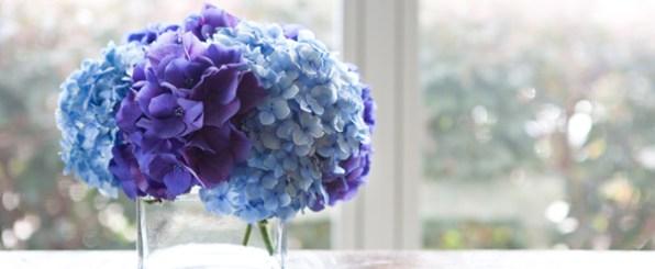 花のある生活・初夏の花「紫陽花」を飾ってみよう♪