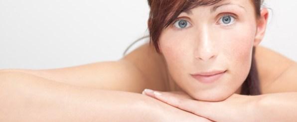 美肌の30代海外女性