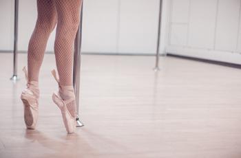 バレリーナの脚