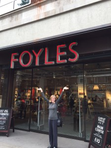 Visiting Foyles New Bookstore
