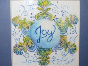 Joy Snowflake artwork