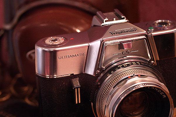 Retro fototoestel bij ene blog over de hel van de fotograaf.