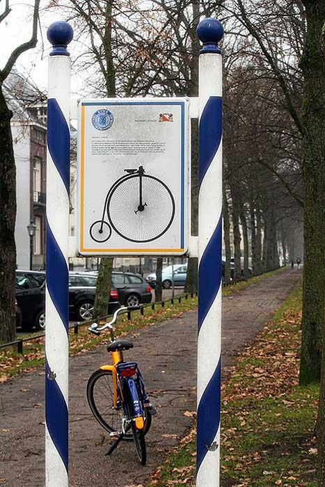 In de straat van de ANWB ontstond een pad om op te fietsen. Maar was dat het echte fietspad?