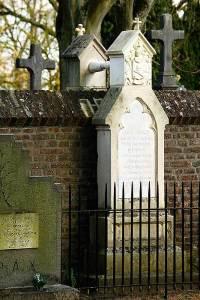 Een omstreden huwelijk met een bijzonder graf