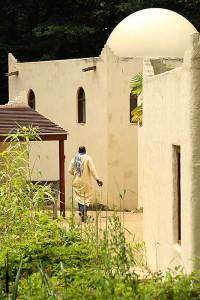 Omani Arabische dorp in Orientalis Heilig Landstichting