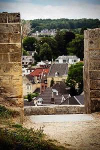 Uitzicht over Valkenburg